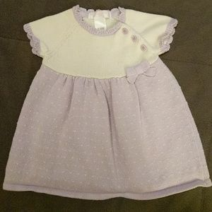 Janie and Jack💜Layette Dress💜0-3 months